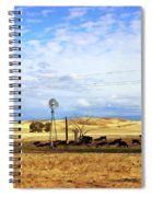 Fresno County Pastoral Spiral Notebook