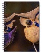 Frick And Frack Spiral Notebook