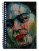 Frida Kahlo Colourful Icon  Spiral Notebook