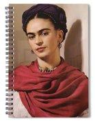 Frida Kahlo Live Spiral Notebook