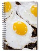 Fried Eggs Spiral Notebook