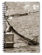Friendly Fisherman Spiral Notebook