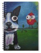 Friends Don't Fly Away Spiral Notebook