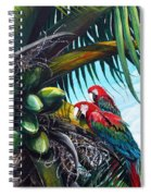 Friends Of A Feather Spiral Notebook