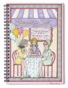 Friendship Cafe Spiral Notebook