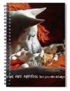 Friendship Quote Spiral Notebook