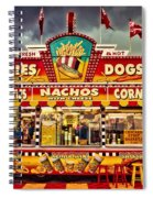Fries Nachos Dogs Spiral Notebook