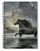 Friesian Fantasy Revisited Spiral Notebook