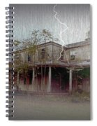 Frightening Lightning Spiral Notebook