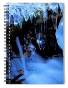 Frigid Flow Spiral Notebook
