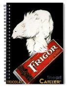 Frigor Chocolate Poster By Leonetto Cappiello, 1929  Spiral Notebook