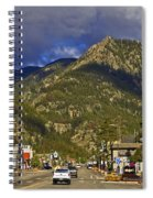 Frisco By The Mountain Spiral Notebook