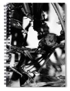 Frog In A Lake Spiral Notebook