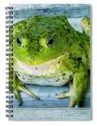 Frog Portrait Spiral Notebook