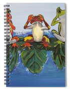 Frogs Without Sense Spiral Notebook