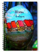 Frohe Ostern Spiral Notebook