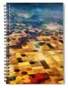 From Above Spiral Notebook