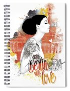 From Berlin With Love Spiral Notebook