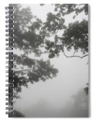 From Inside A Cloud Spiral Notebook