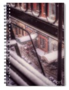 From My Window - Braving The Snow Spiral Notebook