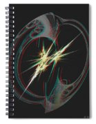 From Nothing - Use Red-cyan 3d Glasses Spiral Notebook