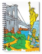 From Old To New York Spiral Notebook