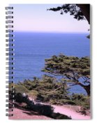 From The Cliff Of Lands' End 02 Spiral Notebook