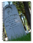 From The Grave Spiral Notebook
