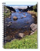 From The Mountains To The Sea Spiral Notebook