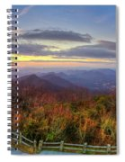 From The Top Of Brasstown Bald Spiral Notebook