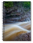 From The Top Of Temperence River Gorge Spiral Notebook