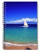 Maui Hawaii Frommer's 2000 Maui Cover Spiral Notebook