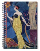 Front Cover Of Les Modes Spiral Notebook