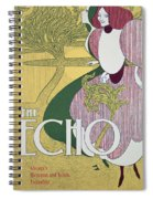 Front Cover Of The Echo Spiral Notebook