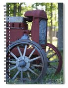Front End Of A Mccormic Deering Tractor Spiral Notebook