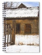 Pioneer Home Painterly Impression Spiral Notebook
