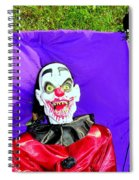 Front Lawn Funeral Spiral Notebook