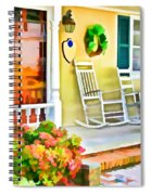 Front Porch 2 Spiral Notebook