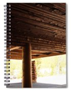 Front Porch Of Old Faithful Inn Spiral Notebook