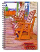 Front Porch On An Old Country House  1 Spiral Notebook