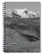 Front Range View North Boulder Colorado Spiral Notebook