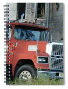 Front Of A Ford 9000 Powerhouse Spiral Notebook