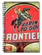 Frontier Gas Spiral Notebook