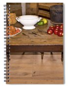 Frontier Table Spiral Notebook