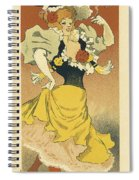 Frossards Cavour Cigars Vintage French Advertising Spiral Notebook