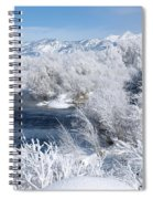Frost Along The River Spiral Notebook