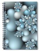 Frost Patterns Spiral Notebook