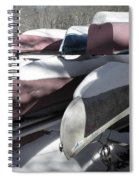 Frosted Canoes Spiral Notebook