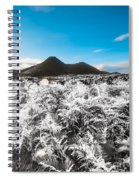 Frosted Over Hinterland Spiral Notebook