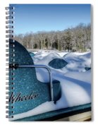 Frosted Paddleboats Spiral Notebook